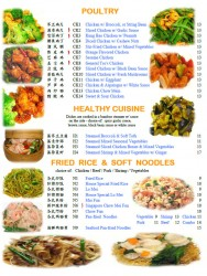Poultry, Healthy Cuisine, Rice & Noodles
